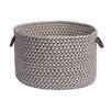 Colonial Mills Outdoor Houndstooth Tweed Basket