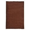 <strong>Colonial Mills</strong> Solid Chenille Chocolate Kids Rug