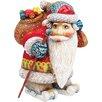 <strong>Derevo Downhill Santa Figurine</strong> by G Debrekht