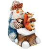 <strong>G Debrekht</strong> Save for Winter Santa Figurine