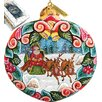 <strong>G Debrekht</strong> Holiday Sleigh Ride Ornament