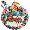 G Debrekht Holiday Sleigh Ride Ornament