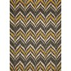 Momeni Geo Yellow Hooked Area Rug