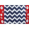 <strong>Nautical Chevron Rug</strong> by Homefires