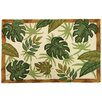 Tropical Foliage Rug