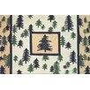 Homefires High Country Pine Forest Outdoor Area Rug