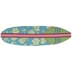 <strong>Surfboard Hawaiian Turquoise Rug</strong> by Homefires