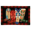 Homefires Boot Scootin' Area Rug