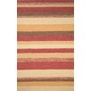<strong>Ravella Red Stripe Outdoor Rug</strong> by Trans-Ocean Rug