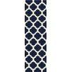 Surya Cosmopolitan Navy Geometric Rug