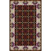 <strong>Surya</strong> Bordeaux Chocolate Geometric Rug