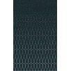 Surya Naya Geometric Taupe/Teal Area Rug