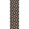Surya Stamped Gray Geometric Rug