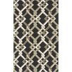 Surya Rain Black Geometric Indoor/Outdoor Area Rug