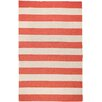 <strong>Surya</strong> Frontier Red Striped Rug