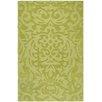 Surya Mystique Lime Green Floral Area Rug
