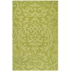 <strong>Mystique Lime Green Floral Rug</strong> by Surya