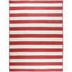 Surya Westport Cherry/Ivory Striped Rug