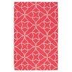 Surya Frontier Pale Jade/Honeysuckle Pink Geometric Area Rug