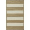 Capel Rugs Willoughby Cream Striped Outdoor Area Rug