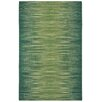 Capel Rugs Beam Green Ikat Area Rug