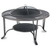 Uniflame Corporation Wood Outdoor Firebowl With Mesh Hearth Fireplace