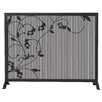 <strong>Uniflame Corporation</strong> 1 Panel Wrought Iron Screen