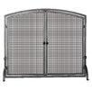 Uniflame Corporation 1 Panel Olde World Iron Fireplace Screen