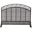 <strong>1 Panel Wrought Iron Fireplace Screen</strong> by Uniflame Corporation
