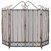 <strong>Uniflame Corporation</strong> 3 Panel Bronze Fireplace Screen
