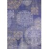 United Weavers of America Marquee Cassia Navy Area Rug