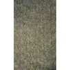 Dynamic Rugs Luxury Shag Light Gray Area Rug