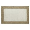 <strong>Manhattan Ivory/Beige Solid Bordered Rug</strong> by Dynamic Rugs