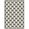 Dynamic Rugs Trend Ivory/Black Geometric Rug