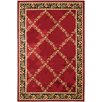 <strong>Dynamic Rugs</strong> Yazd Red Geometric Rug