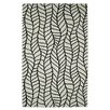 Dynamic Rugs Palace Black/White Area Rug