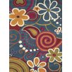 Dynamic Rugs Fantasia Fan Girls Blue Kids Rug