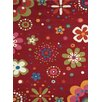 Dynamic Rugs Fantasia Fan Girls Birght Red Kids Rug
