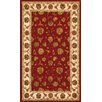 Dynamic Rugs Jewel Red/Beige Rug