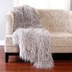 Best Home Fashion, Inc. Mongolian Lamb Faux Fur Full Throw Blanket