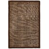 Anji Mountain Pizzelle Brown Area Rug