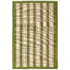 Anji Mountain Hamptons Sweetfern Green/Tan Striped Area Rug