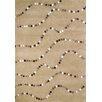 <strong>Foreign Accents</strong> Boardwalk Latte Dots Rug
