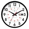 "FirsTime 14"" Day Date Wall Clock"