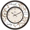 "FirsTime 13"" Cherish Wall Clock"