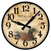 "FirsTime 15.5"" Duck Decoy Wall Clock"