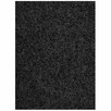 Mayberry Rug Super Shag Cloud Black Area Rug