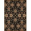 Mayberry Rug Timeless Viola Black Area Rug