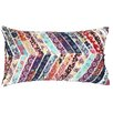 A1 Home Collections LLC Potpourri Patchwork Oblong Throw Pillow