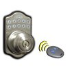 Lockey USA Edigital Keyless Electronic Knob Lock and Remote Set
